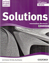 Solutions 2nd Edition Intermediate WorkBook + Audio CD (UA)
