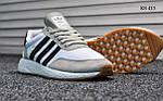 Чоловічі кросівки Adidas Iniki Runner (чорно/білі), фото 4
