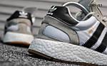 Чоловічі кросівки Adidas Iniki Runner (чорно/білі), фото 5