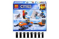 """Конструктор """"CITIES ARCTIC"""" """"Полярные исследователи"""" (коробка) 88 дет. 10992"""