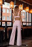 Комбинезон женский стильный креп костюмка верх топ размеры:42,44,46,48, фото 2