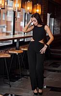 Комбинезон женский стильный креп костюмка верх топ размеры:42,44,46,48, фото 1