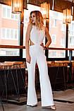 Комбинезон женский стильный креп костюмка верх топ размеры:42,44,46,48, фото 3