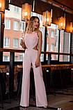 Комбинезон женский стильный креп костюмка верх топ размеры:42,44,46,48, фото 6