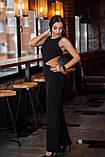 Комбинезон женский стильный креп костюмка верх топ размеры:42,44,46,48, фото 4