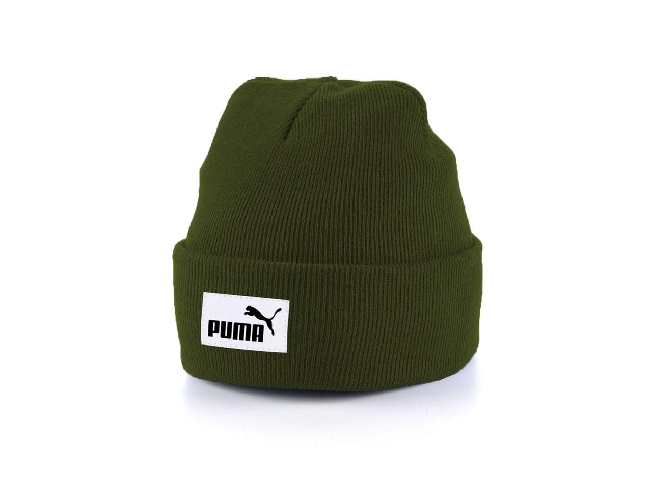 Мужская теплая шапка Puma универсальный размер