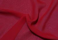 Ткань Шифон однотонный красный