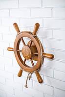 Штурвал на стену с компасом и поворотным механизмом