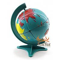 Глобус-головоломка (11х6,5х6,5 см)