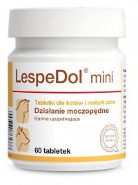 Мочегонный препарат для кошек и маленьких собак Dolfos LespeDol 60 таблеток