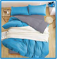 Комплект постельного белья из сатина (2-двуспальный размер)
