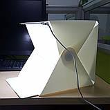 Фотобокс – лайтбокс с LED подсветкой для предметной съемки 30см, фото 4