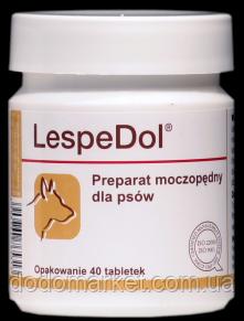 Мочегонный препарат для собак Dolfos LespeDol 40 таблеток