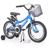 """Детский Велосипед INTENSE 16"""" N-200 Blue +Насос+Рем.коплект +Бутылочка"""