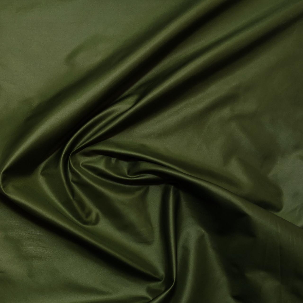 Плащевая ткань лаке хаки