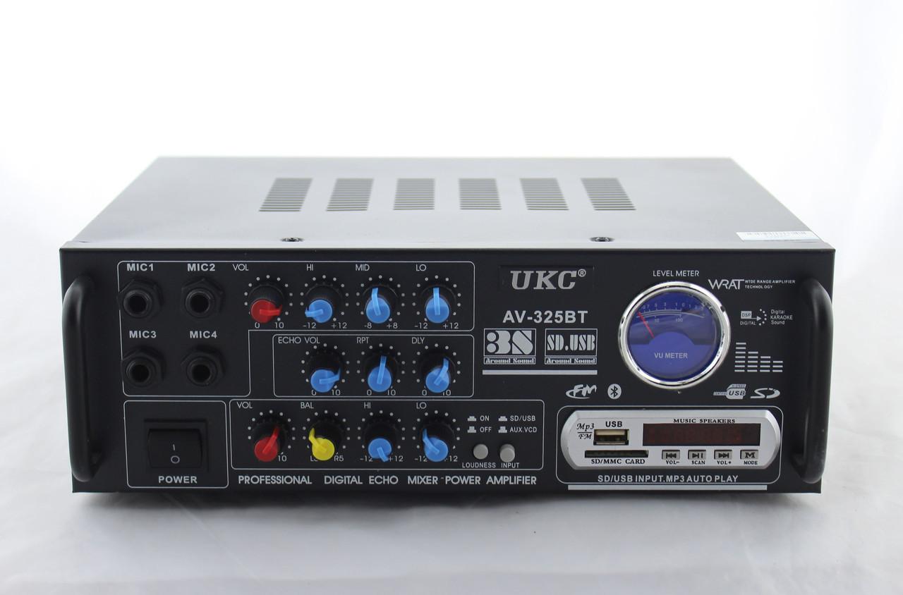 Усилитель мощности с Bluetooth и 100V-выходом UKC PA-325BT