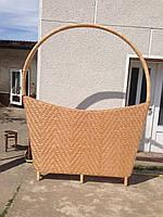 Плетеная декоративная ширма