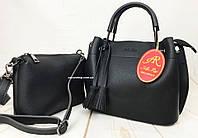 Клатч в подарок! Небольшая кожаная женская сумка с ручкой. Сумка Женская через плечо. СЛ09