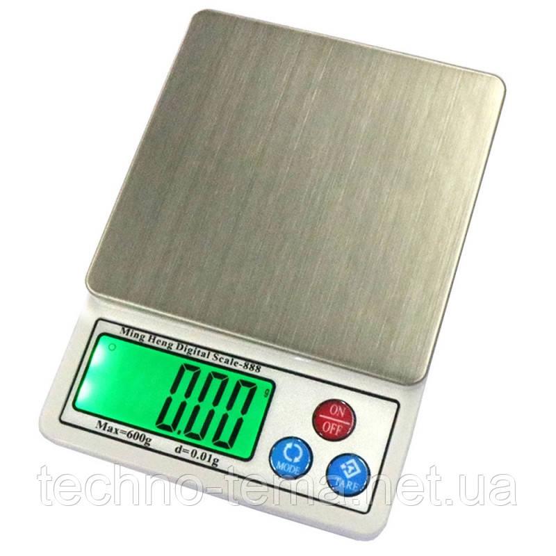 Ювелирные весы МН-888 600гр. 0,01
