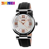Skmei 9075 elegant черные женские классические часы, фото 1