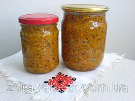 Пыльца пчелиная + мед (1:1)  (0,5 л)