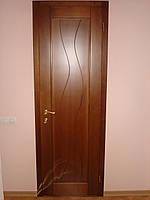 Двери деревянные из массива ясеня или дуба DR1