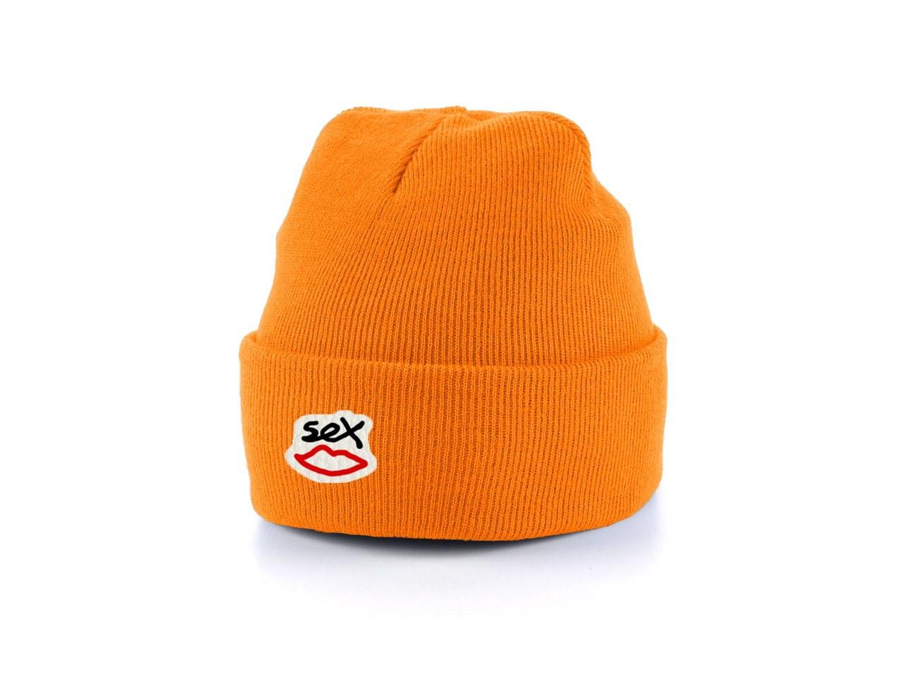 Мужская теплая шапка Sex универсальный размер