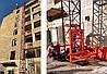 Н-75 метрів, г / п 2000 кг, 2 тонни. Будівельний підйомник щогловий. Щоглові підйомники вантажні будівельні., фото 3