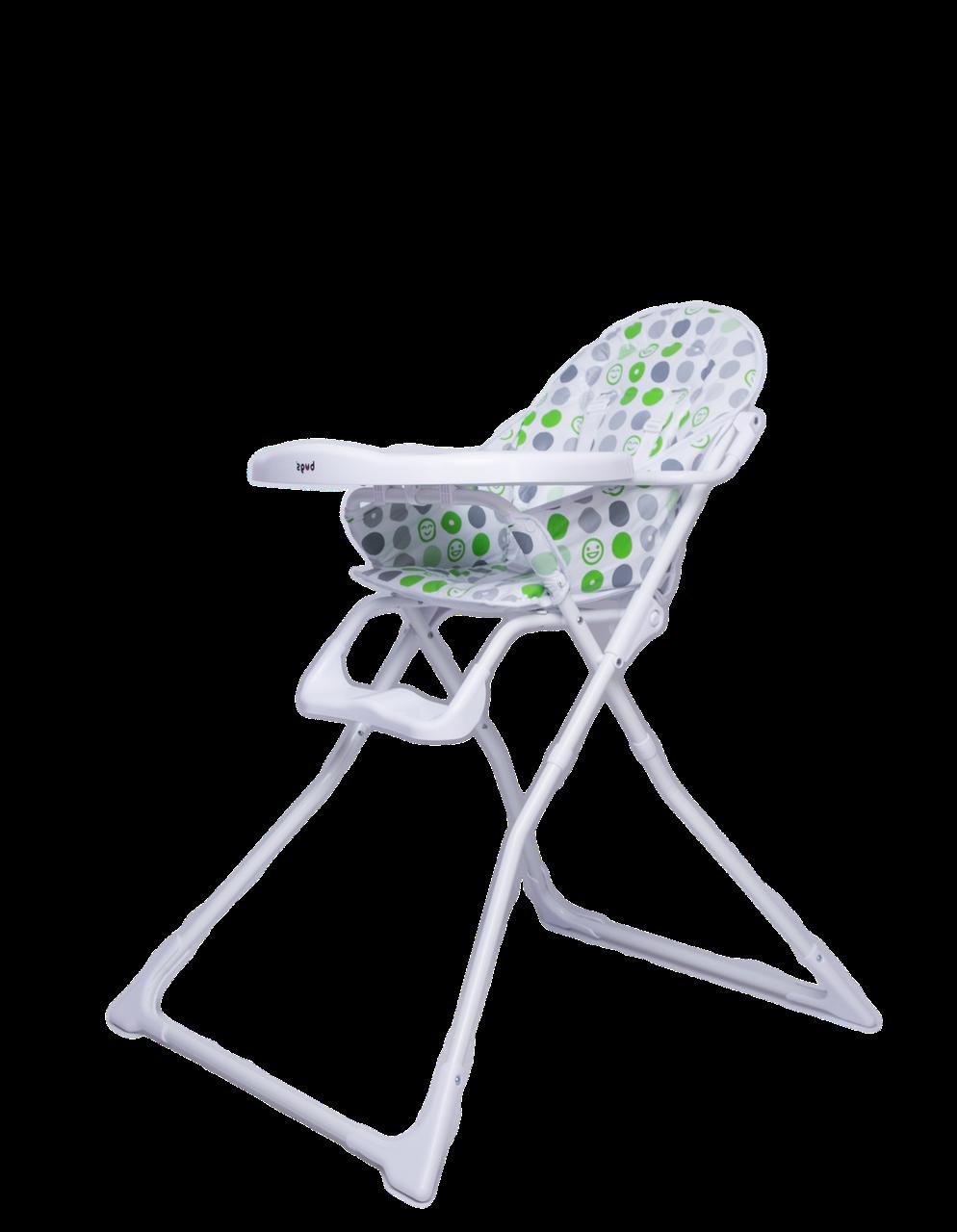 Детский стульчик для кормления Bugs Smart - Зеленый