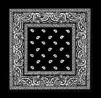 Бандана классическая черная