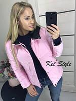 Женская стильная теплая куртка (утеплитель-синтепон 200), фото 1