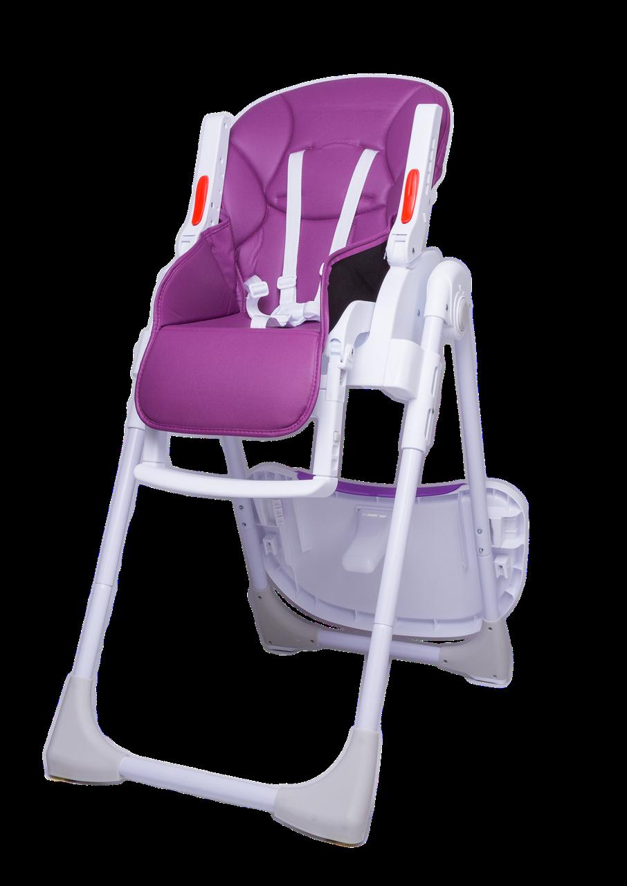 Детский стульчик для кормления Bugs Studio - Фиолетовый
