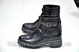 Ботинки черные Milena -783