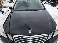 Капот черный Mercedes e-class w212 дорестайлинг