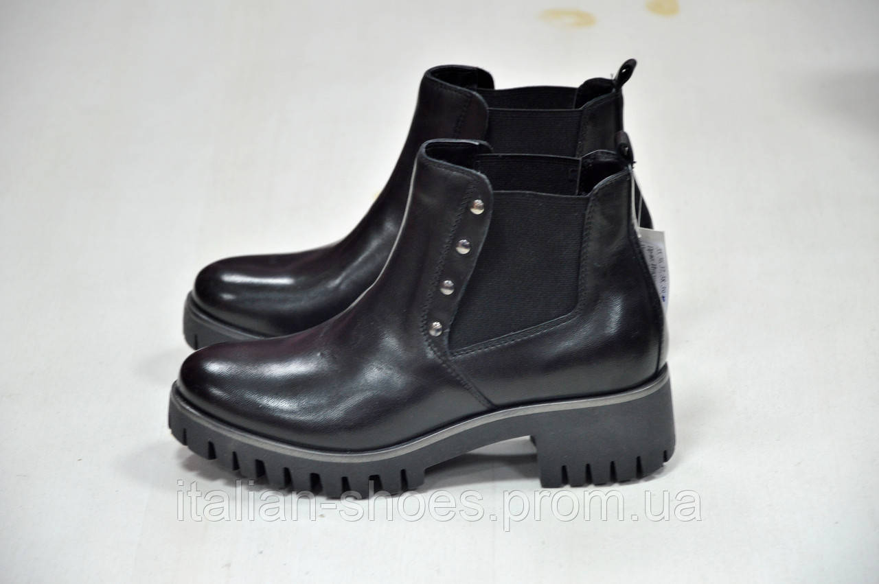 Черные ботинки Marko -782