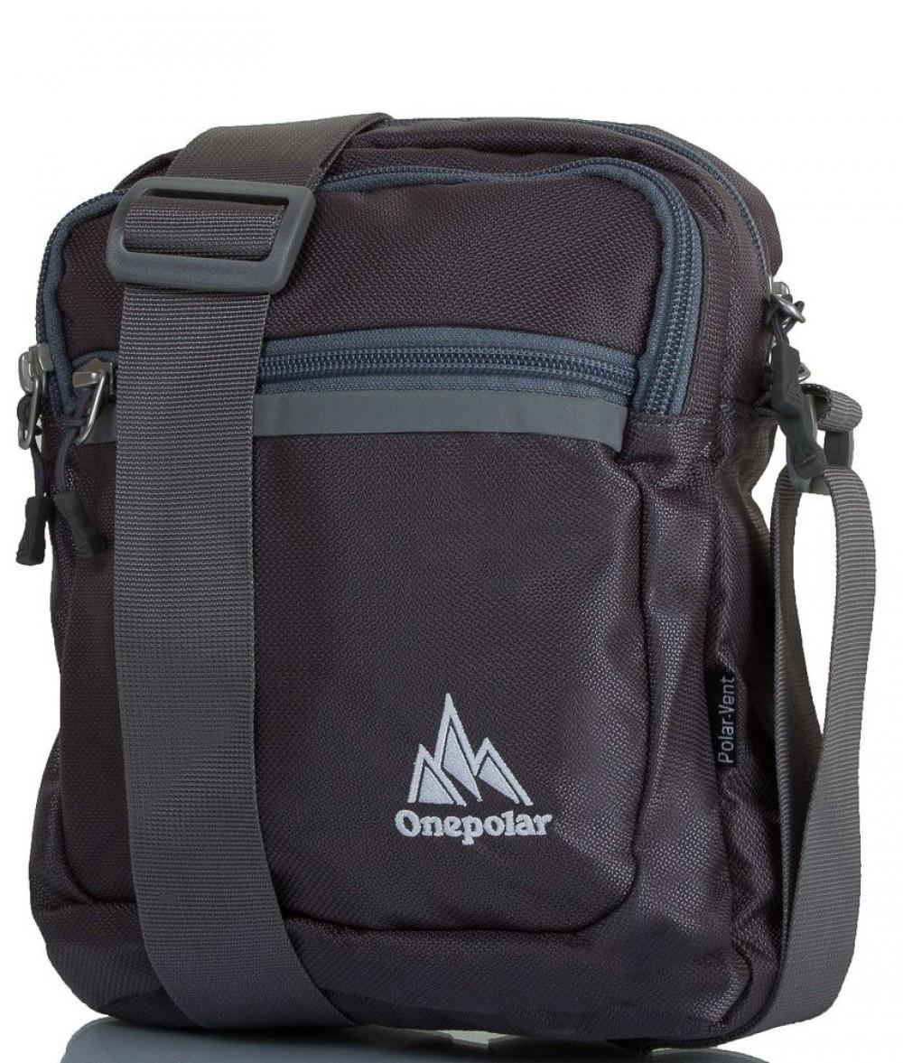 e3e905734a7a Мужская спортивная сумка через плечо ONEPOLAR W5632-grey - Arion-store -  кожгалантерея и