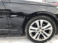 Крило праве чорне Mercedes e-class w212 дорестайлинг, фото 1