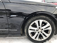 Крыло правое черное Mercedes e-class w212 дорестайлинг, фото 1