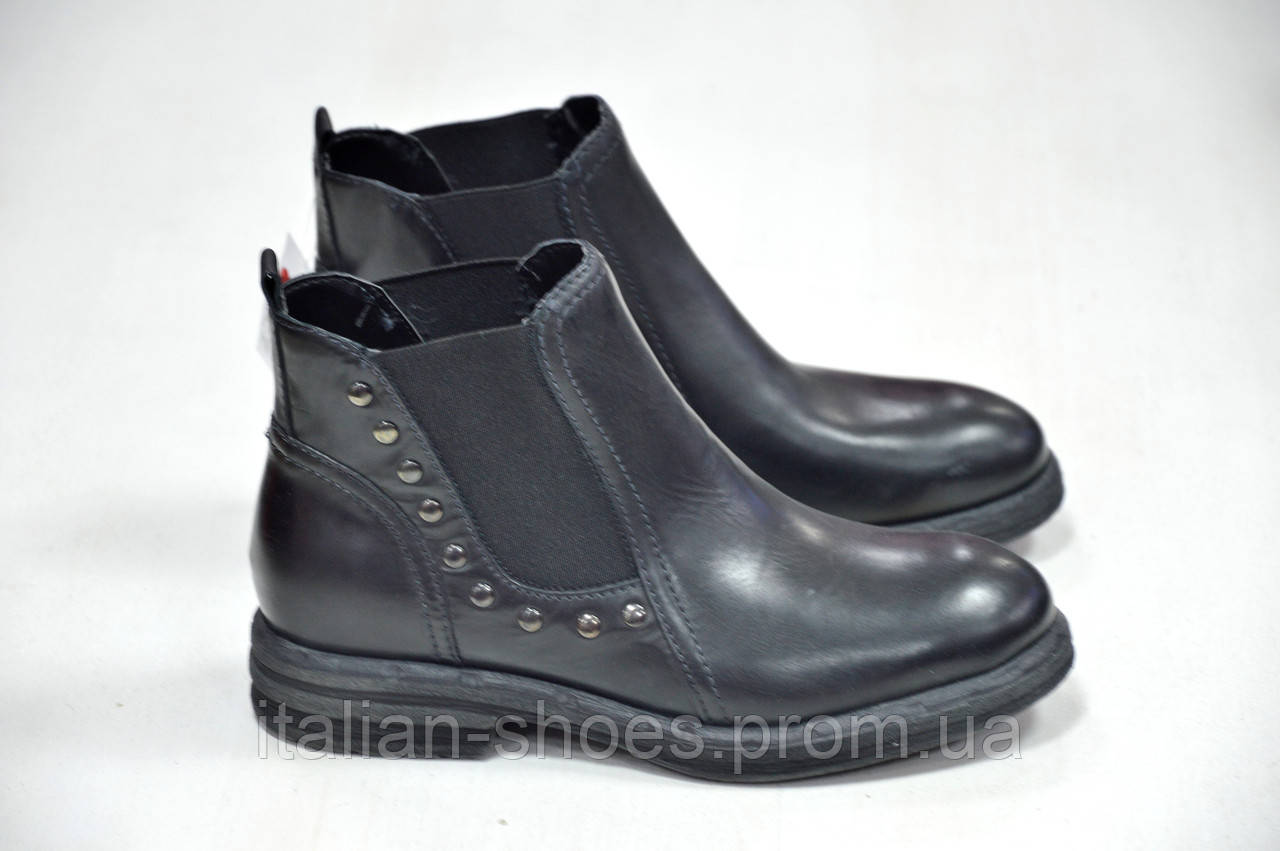 Черные ботинки Marko -781