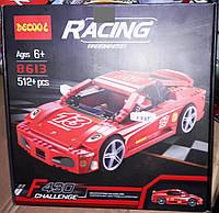 Конструктор Decool 8613 Racers Легенда Феррари F430 512 деталей, фото 1