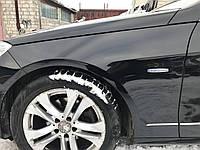 Крыло Левое черное Mercedes e-class w212 дорестайлинг