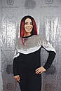Женский джемпер в больших размерах с велюром 53ba1320, фото 3