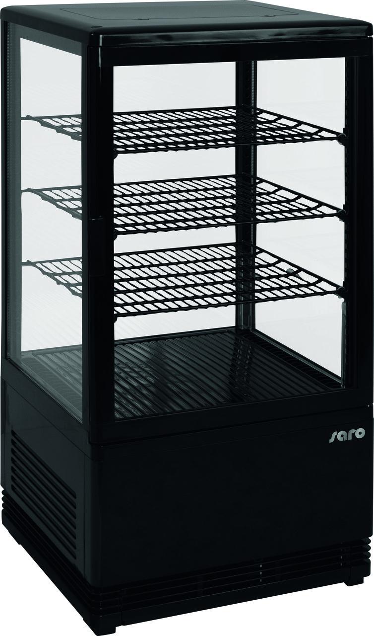 Холодильный шкаф-витрина Saro SC 70 black