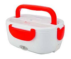 Ланч-бокс с подогревом Electronic Lunch Box от прикуривателя 12V (красный)