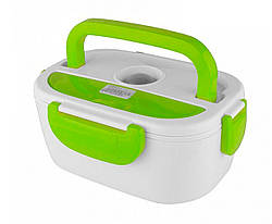 Ланч-бокс с подогревом Electronic Lunch Box от прикуривателя 12V (зелёный)