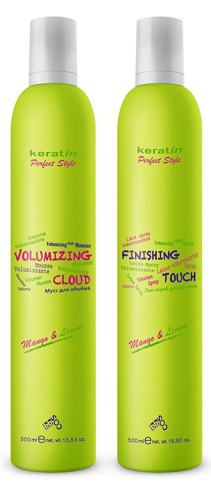Лак-спрей для волос BBcos Keratin Perfect Style Finishing Touch