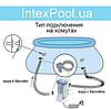 Надувной бассейн Intex 28122, 305 х 76 см (1 250 л/ч), фото 8