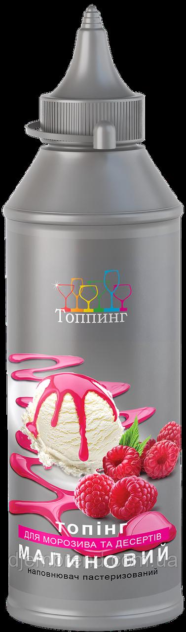 Топпинг для мороженого Малиновый ТМ Топпинг, 600 г