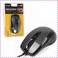 Мышь A4 Tech N-708X glossy grey V-TRACK USB, мышка