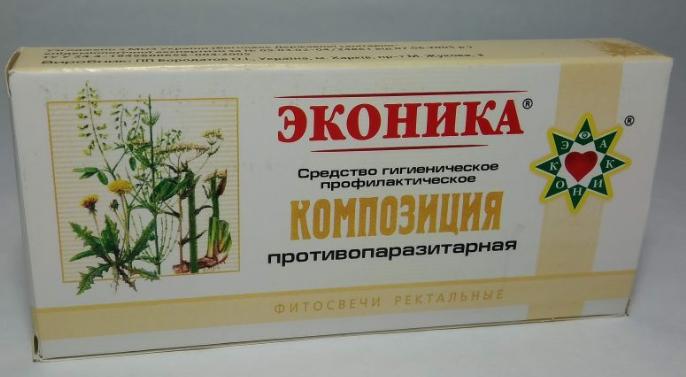 "Фитосвечи ""Композиция противопаразитарная"" 10 шт"